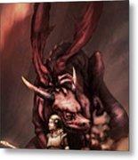 Sarah's Dragon Metal Print