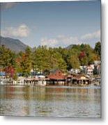 Saranac Lake Metal Print