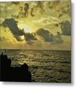 Sarjekot Sunset Point Metal Print
