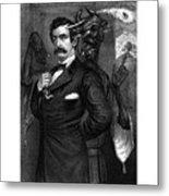 Satan Tempting John Wilkes Booth Metal Print