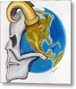 Satan's-cerebellum Metal Print