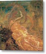Satan's Treasures Metal Print