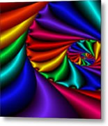 Satin Rainbow Metal Print