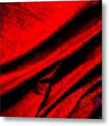 Satin Sheets Metal Print
