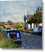 Saturday At The Saracens Head Metal Print