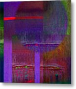 Saturn Abstract Metal Print