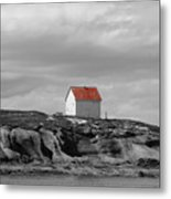 Saturna Red Metal Print