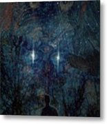 Saturnine Night Metal Print