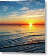 Sauble Beach Sunset 4 Metal Print
