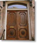 Savannah Doors I Metal Print