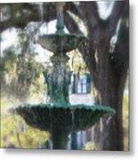 Savannah Green Metal Print