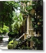 Savannah Historic District  Metal Print