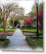 Savannah Park. Metal Print