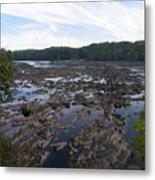Savannah River At Evans Metal Print