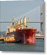 Savannah River Scenic Metal Print