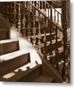 Savannah Sepia - Stairs Metal Print