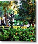 Savannah Square Metal Print