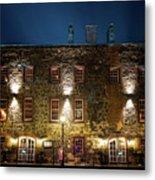 Savannah's Historic River Street Metal Print