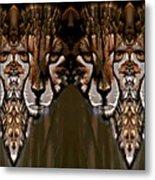 Save The Cheetahs Metal Print