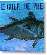 Save The Gulf America 2 Metal Print
