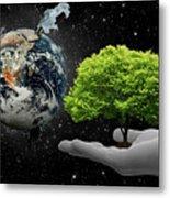 Save Tree Metal Print