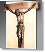 Save Us Metal Print by Nelson Rodriguez