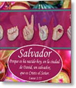 Savior Spanish Metal Print
