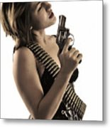 Say It One More Time Metal Print