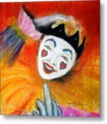 Say It With A Smile Metal Print