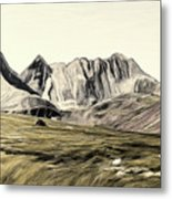 Sayan Landscape Metal Print