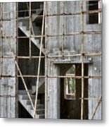 Scaffolds And Stairs Metal Print