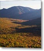 Scar Ridge Autumn Metal Print