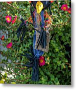 Scare Bird Metal Print