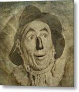 Scarecrow Metal Print