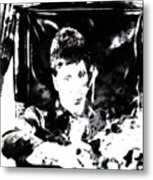 Scarface Reflects Metal Print