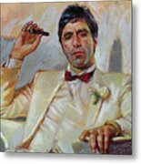 Scarface Metal Print by Ylli Haruni
