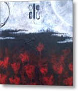 Scarlet Creation II Metal Print