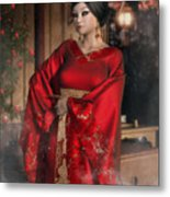 Scarlet Empress Metal Print