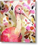 Scarlet Ibis Metal Print