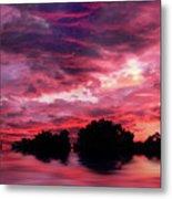 Scarlet Skies Metal Print