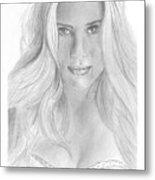 Scarlett Johannson Metal Print