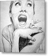 Scarlett Johansson Metal Print