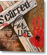 Scarred For Life Metal Print