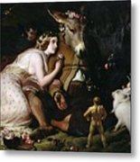 Scene From A Midsummer Night's Dream Metal Print