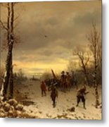 Scene From The Thirty Years War Metal Print