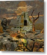 Scene Of Crime Metal Print