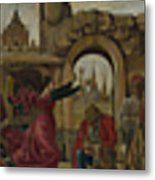 Scenes From The Life Of Saint Vincent Ferrer Metal Print