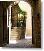 Scenic Archway Metal Print