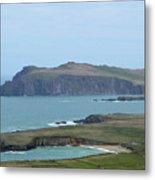 Scenic Blasket Islands As Seen From Slea Head Penninsula Metal Print
