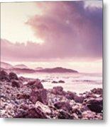 Scenic Seaside Sunrise Metal Print
